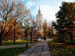 Устьинский сквер в Москве: памятный обелиск российским пограничникам (ч.2/2)