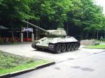 танк в парке Победы, Ессентуки