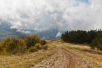 дорога к ущелью Курлюк-Баш
