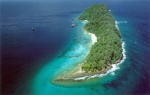 остров Пулау Пайар с высоты