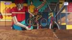 граффити под Строгинским мостом