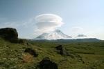 ретикулярные облака на Камчатке