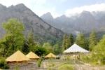 кемпинги в долине Сангла