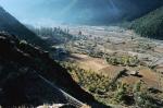 деревня Сангла в долине