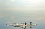 высыхающее озеро Урмия