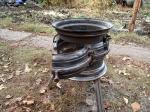 двери печи из колесных дисков