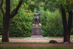 памятник Петру I в парке Дубки