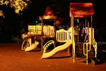 детская площадка в центре парка Дубки, Санкт-Петербург