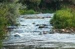 быстрое течение реки Осётр