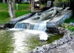 водопад в Парке Влюблённых