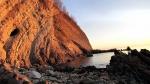 скала Мышиные Норки, Агой