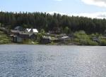 поселок на реке Умба