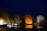 Нацпарк Нижняя Долина Одера ночью