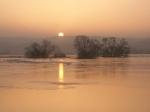 Нижняя Долина Одера на закате