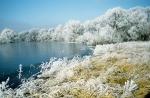 Нижняя Долина Одера зимой