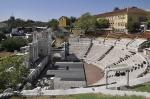римский форум Тримонциум в Пловдиве