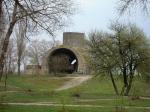 железнодорожный туннель в парке Оболонь