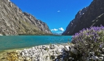 Llanganuco Lake, Huascaran National Park, Peru