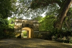 Gothic gate, Fort Canning Park