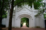Gothic gate, Fort Canning Green, Singapore