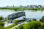 парк Городское начало и река Обь