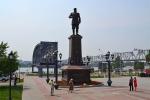 памятник Александру III в парке Городское начало
