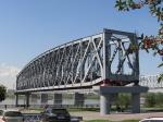 фрагмент конструкции старого моста