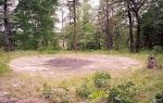 странная поляна в лесу Хойя-Бачу