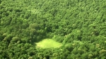лысая поляна в лесу Хойя-Бачу