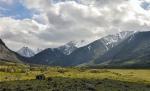 долина реки Елангаш на Алтае