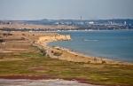 Тобечикское озеро в Крыму