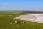 парапланеризм на озере Тобечик