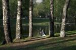 парк Серебряный пруд в Санкт-Петербурге