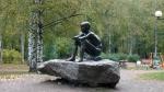 скульптура Память о детстве в парке Серебряный пруд
