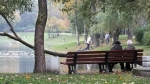 парк Серебряный пруд, Санкт-Петербург