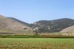 вид на гору Гильбоа