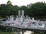 Манхэттен и здания-близнецы, парк Мира, Пекин