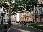 вид с Пале-Рояля на Оперный театр Одессы
