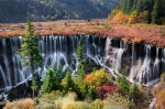 Nuorilang Waterfall, Jiuzhaigou, China