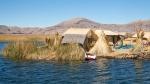 Peru Lago Titicaca Islas Flotantes