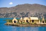 плавучие острова, озеро Титикака