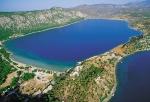 озеро Вулиагмени с высоты