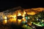 курорт Вулиагмени ночью