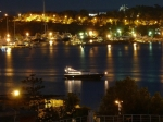 озеро Вулиагмени ночью