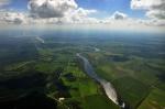река Волхов с высоты