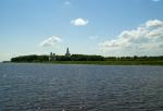 река Волхов в Великом Новгороде