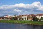 река Латорица в Мукачево, Украина