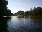 Мукачевский замок на реке Латорица