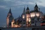 Кремль в Измайлово ночью