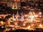 вид на Измайловский Кремль ночью